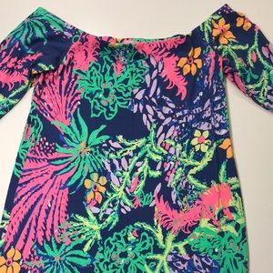 Lilly Pulitzer NWT Laurana off-shoulder dress. XL